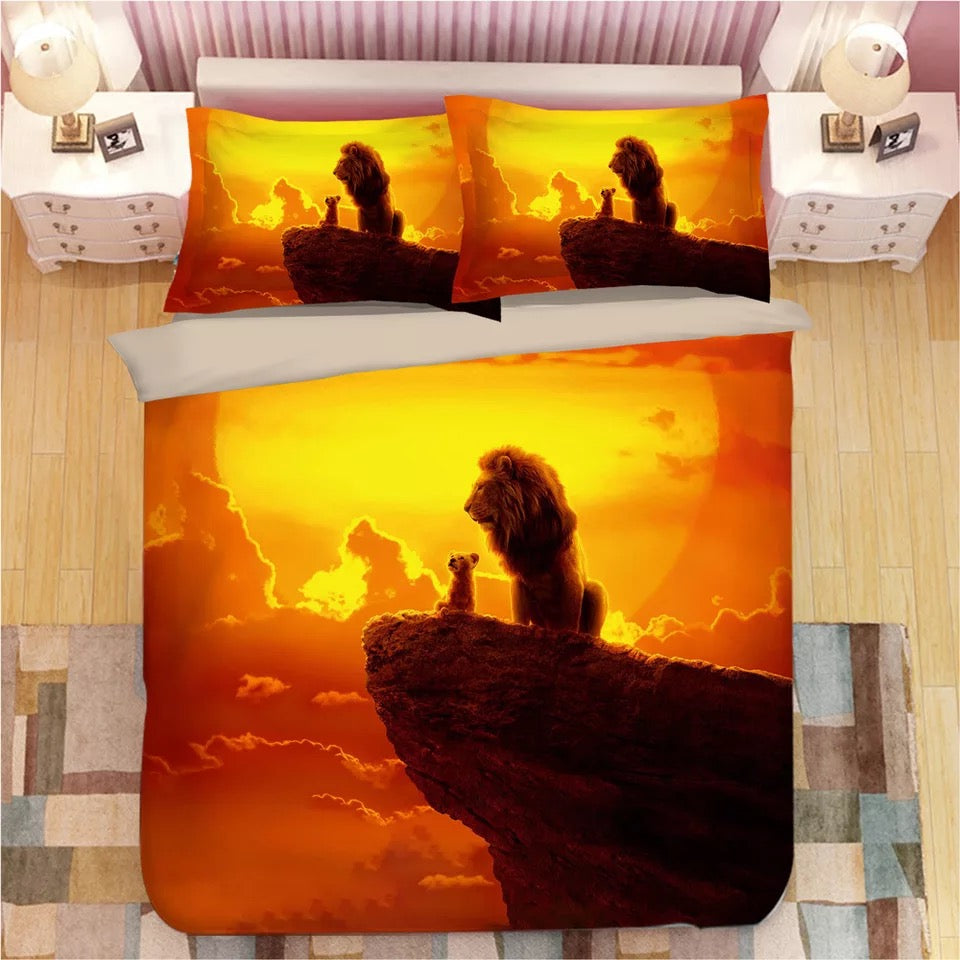 The Lion King Simba #5 Duvet Cover Bedding Set Pillowcase