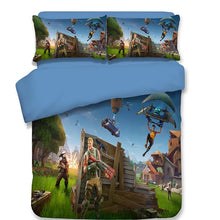 Load image into Gallery viewer, Fortnite Team #5 Duvet Cover Bedding Set Pillowcase