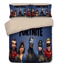 Load image into Gallery viewer, Fortnite Omega Duvet Cover Bedding Set Pillowcase