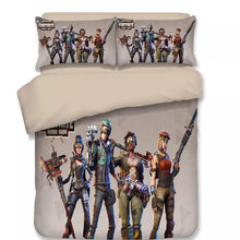 Load image into Gallery viewer, Fortnite Team #6 Duvet Cover Bedding Set Pillowcase