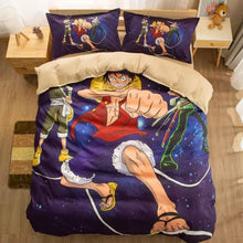 Load image into Gallery viewer, One Piece Monkey D. Luffy #1 Duvet Cover Quilt Cover Pillowcase Bedding Set