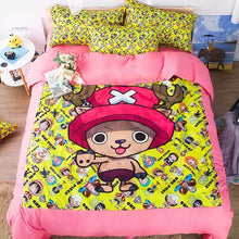 Load image into Gallery viewer, One Piece Tony Tony Chopper #3 Duvet Cover Quilt Cover Pillowcase Bedding Set