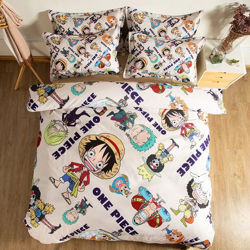 One Piece Monkey D. Luffy #16 Duvet Cover Quilt Cover Pillowcase Bedding Set