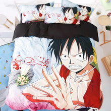 Load image into Gallery viewer, One Piece Monkey D. Luffy #18 Duvet Cover Quilt Cover Pillowcase Bedding Set