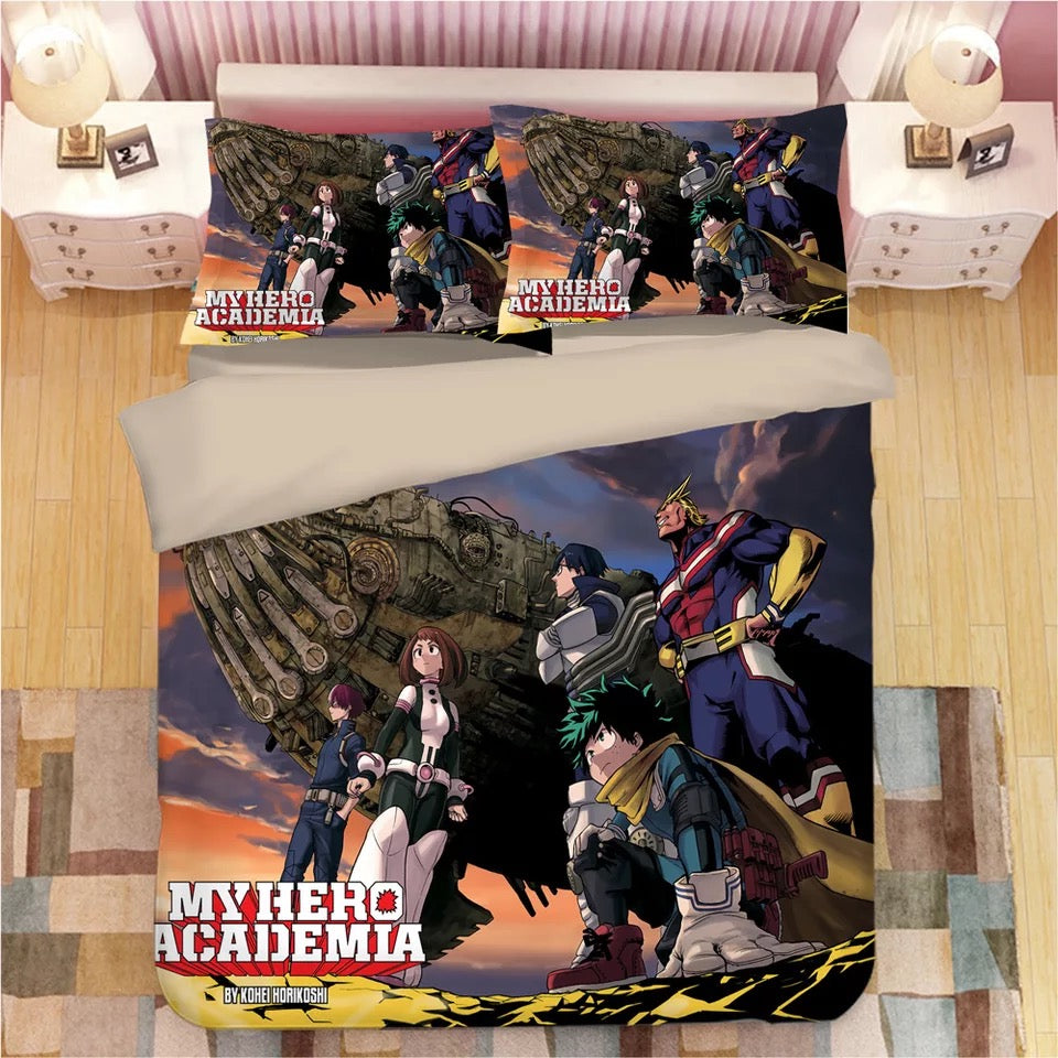 My Hero Academia Deku Midoriya Izuku #6 Duvet Cover Quilt Cover  Pillowcase Bedding Set