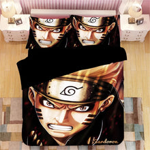 Load image into Gallery viewer, Naruto Uzumaki Naruto #5 Duvet Cover Quilt Cover Pillowcase Bedding Set