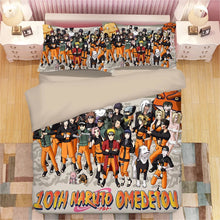 Load image into Gallery viewer, Naruto Uzumaki Naruto #6 Duvet Cover Quilt Cover Pillowcase Bedding Set
