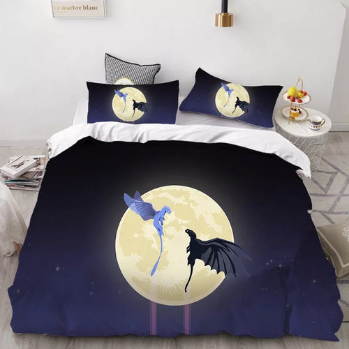 How to Train Your Dragon Hiccup #29 Duvet Cover Quilt Cover Pillowcase Bedding Set Bed Linen