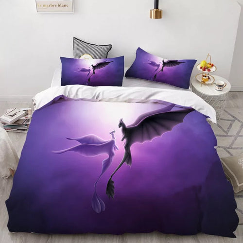 How to Train Your Dragon Hiccup #33 Duvet Cover Quilt Cover Pillowcase Bedding Set Bed Linen