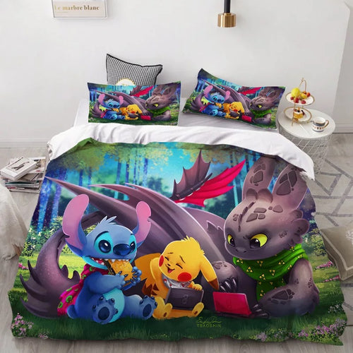 How to Train Your Dragon Hiccup #42 Duvet Cover Quilt Cover Pillowcase Bedding Set Bed Linen