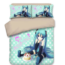 Load image into Gallery viewer, Hatsune Miku #3 Duvet Cover Quilt Cover Pillowcase Bedding Set