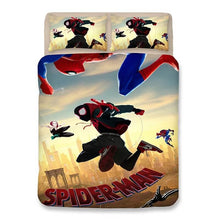 Load image into Gallery viewer, Spider-Man: Into the Spider-Verse Miles Morales #10 Duvet Cover Quilt Cover Pillowcase Bedding Set