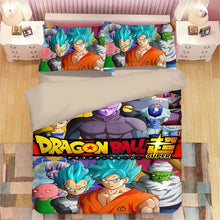 Load image into Gallery viewer, Dragon Ball Z Son Goku #2 Duvet Cover Quilt Cover Pillowcase Bedding Set