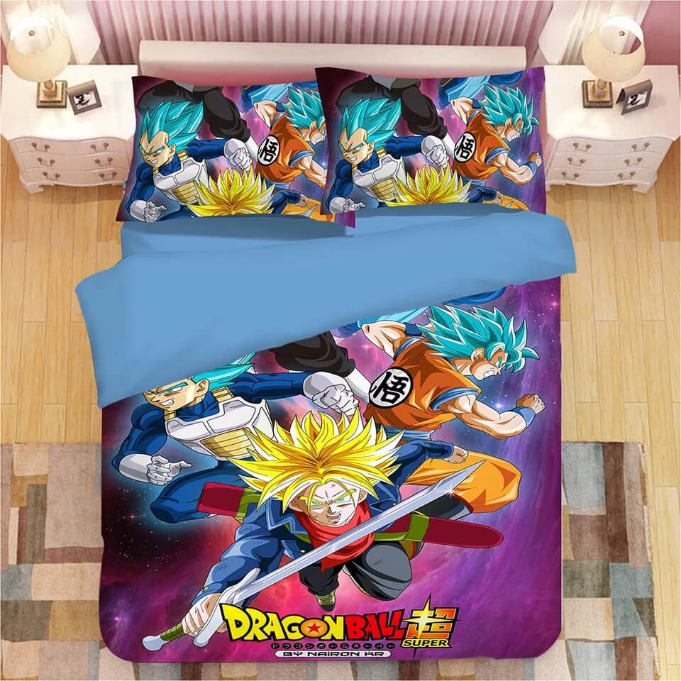 Dragon Ball Z Son Goku #3 Duvet Cover Quilt Cover Pillowcase Bedding Set