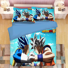 Load image into Gallery viewer, Dragon Ball Z Son Goku #4 Duvet Cover Quilt Cover Pillowcase Bedding Set