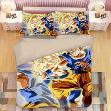 Load image into Gallery viewer, Dragon Ball Z Son Goku #7 Duvet Cover Quilt Cover Pillowcase Bedding Set