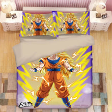 Load image into Gallery viewer, Dragon Ball Z Son Goku #10 Duvet Cover Quilt Cover Pillowcase Bedding Set
