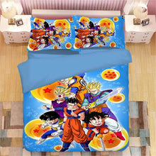 Load image into Gallery viewer, Dragon Ball Z Son Goku #14 Duvet Cover Quilt Cover Pillowcase Bedding Set