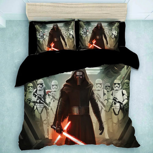 Star Wars Kylo Ren #17 Duvet Cover Quilt Cover Pillowcase Bedding Set Bed Linen Home Decor