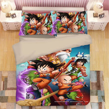 Load image into Gallery viewer, Dragon Ball Z Son Goku #15 Duvet Cover Quilt Cover Pillowcase Bedding Set