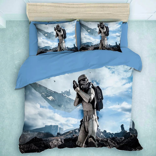 Star Wars Stormtrooper #19 Duvet Cover Quilt Cover Pillowcase Bedding Set Bed Linen Home Decor