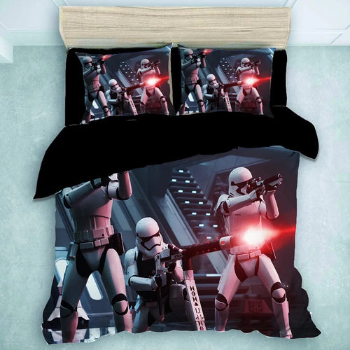 Star Wars Stormtrooper #20 Duvet Cover Quilt Cover Pillowcase Bedding Set Bed Linen Home Decor