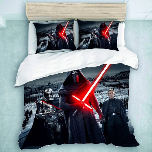 Star Wars Kylo Ren #21 Duvet Cover Quilt Cover Pillowcase Bedding Set Bed Linen Home Decor