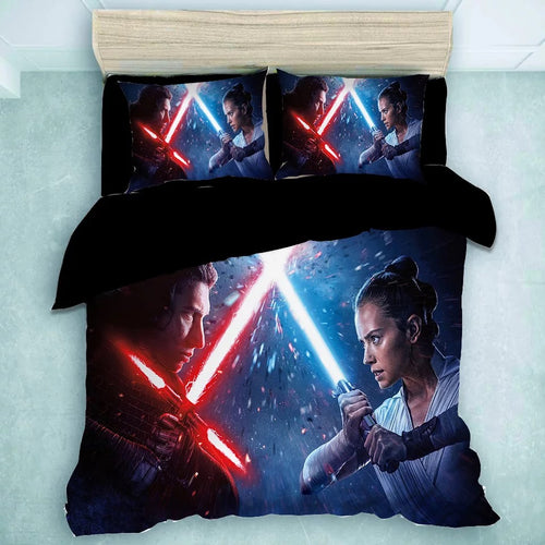 Star Wars Rey Palpatine #22 Duvet Cover Quilt Cover Pillowcase Bedding Set Bed Linen Home Decor