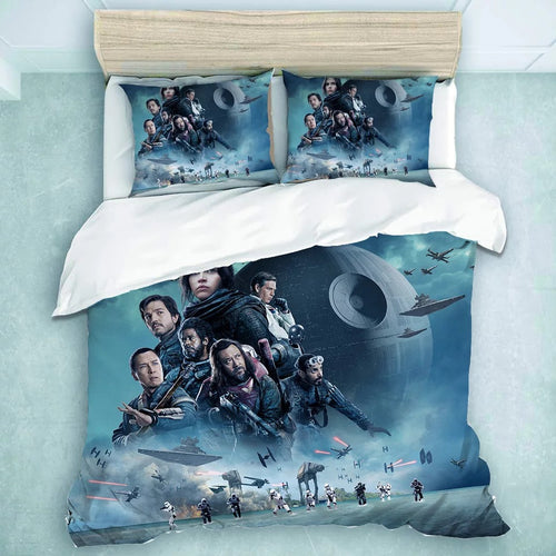Rogue One: A Star Wars Story #23 Duvet Cover Quilt Cover Pillowcase Bedding Set Bed Linen Home Decor