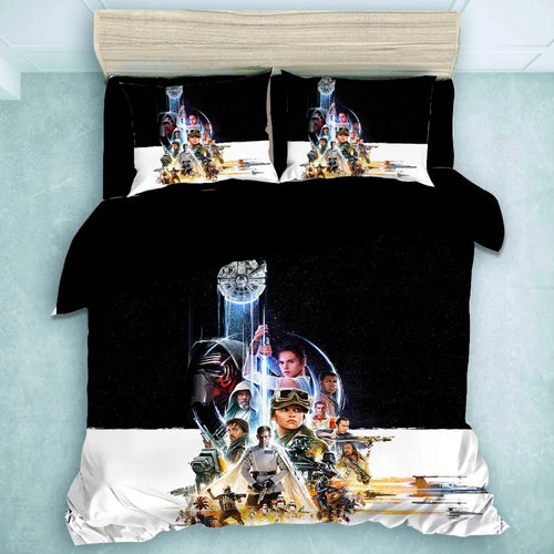 Star Wars: The Force Awakens #24 Duvet Cover Quilt Cover Pillowcase Bedding Set Bed Linen Home Decor