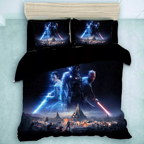Star Wars Rey Death Trooper #26 Duvet Cover Quilt Cover Pillowcase Bedding Set Bed Linen Home Decor