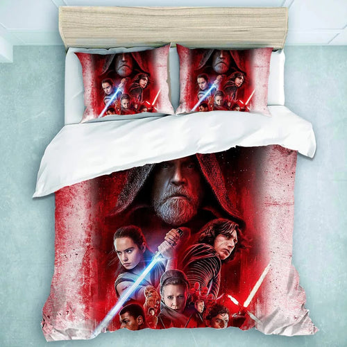 Star Wars: The Last Jedi #28 Duvet Cover Quilt Cover Pillowcase Bedding Set Bed Linen Home Decor