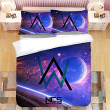 Load image into Gallery viewer, Alan Walker #3 Duvet Cover Quilt Cover Pillowcase Bedding Set