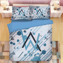 Load image into Gallery viewer, Alan Walker #9 Duvet Cover Quilt Cover Pillowcase Bedding Set