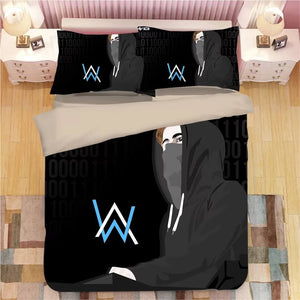 Alan Walker #11 Duvet Cover Quilt Cover Pillowcase Bedding Set