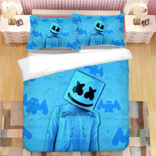 Load image into Gallery viewer, Fortnite Marshmello DJ #3 Duvet Cover Quilt Cover Pillowcase Bedding Set Bed Linen