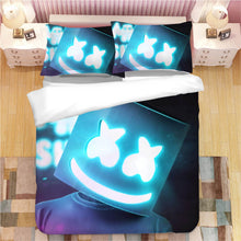 Load image into Gallery viewer, Fortnite Marshmello DJ #7 Duvet Cover Quilt Cover Pillowcase Bedding Set Bed Linen