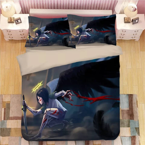 Alita Battle Angel #2 Duvet Cover Quilt Cover Pillowcase Bedding Set
