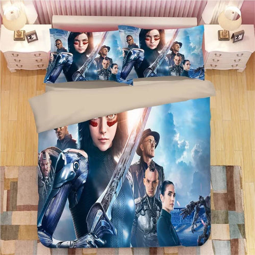 Alita Battle Angel #3 Duvet Cover Quilt Cover Pillowcase Bedding Set