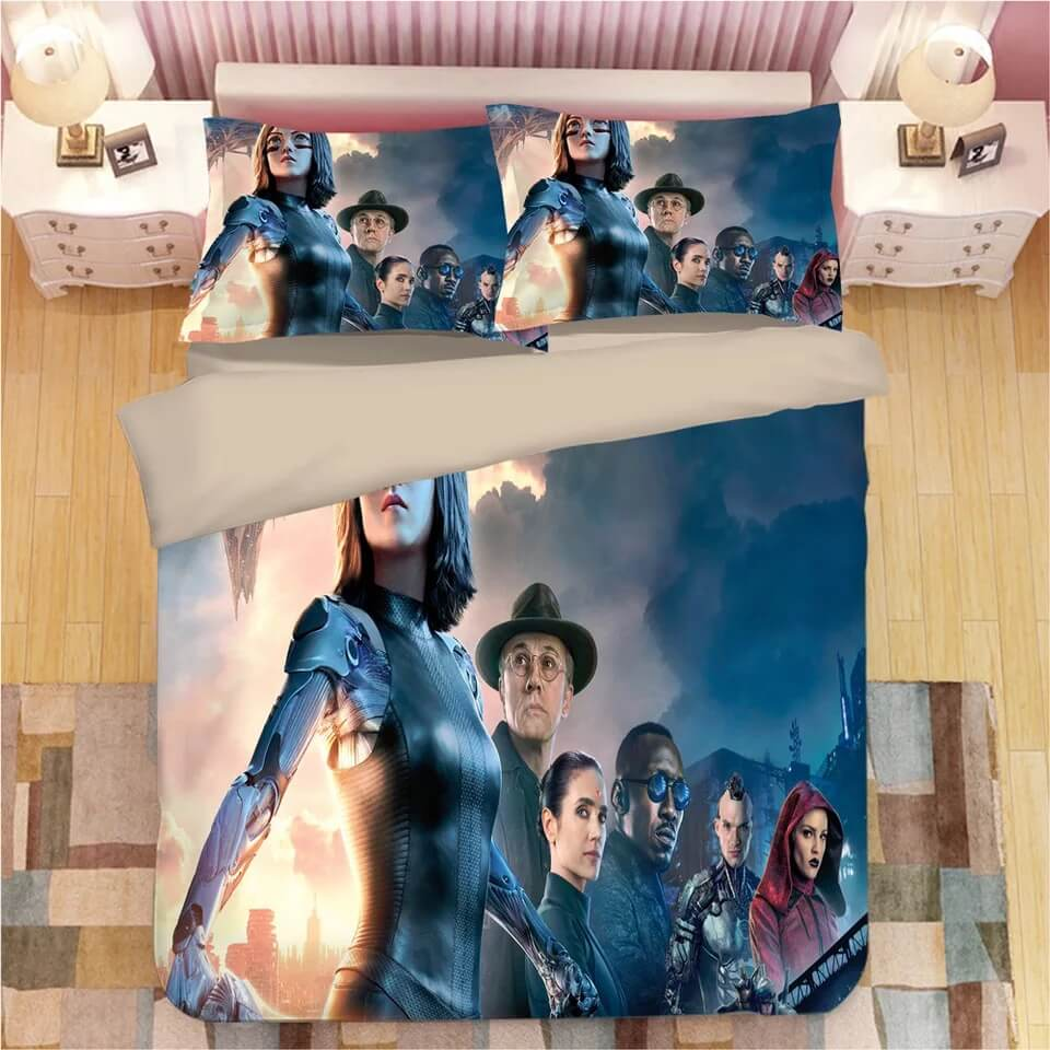 Alita Battle Angel #4 Duvet Cover Quilt Cover Pillowcase Bedding Set