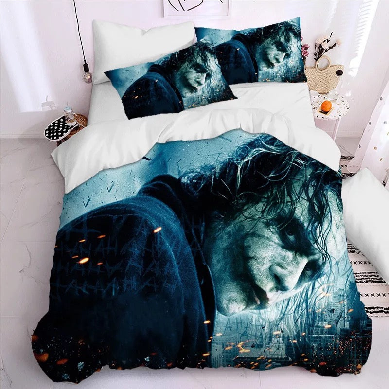 2019 Joker Arthur Fleck Clown #1 Duvet Cover Quilt Cover Pillowcase Bedding Set Bed Linen