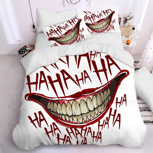 2019 Joker Arthur Fleck Clown #7 Duvet Cover Quilt Cover Pillowcase Bedding Set Bed Linen