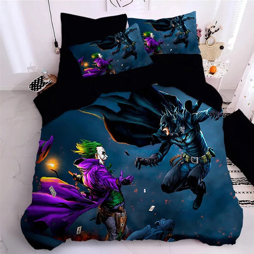 2019 Joker Arthur Fleck Clown #8 Duvet Cover Quilt Cover Pillowcase Bedding Set Bed Linen