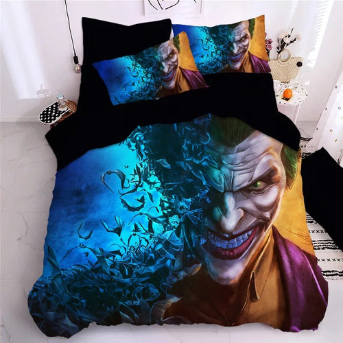 2019 Joker Arthur Fleck Clown #11 Duvet Cover Quilt Cover Pillowcase Bedding Set Bed Linen