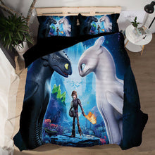 Load image into Gallery viewer, How to Train Your Dragon #1 Duvet Cover Quilt Cover Pillowcase Bedding Set Bed Linen