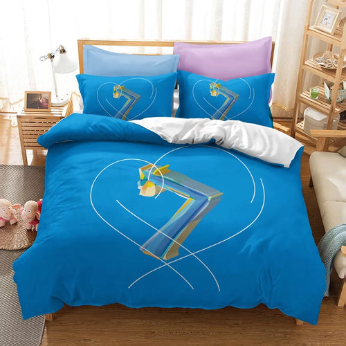 BTS MAP OF THE SOUL 7 #11 Duvet Cover Quilt Cover Pillowcase Bedding Set Bed Linen Home Bedroom Decor