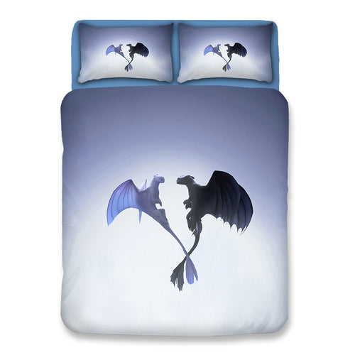 How to Train Your Dragon Hiccup #5 Duvet Cover Quilt Cover Pillowcase Bedding Set Bed Linen