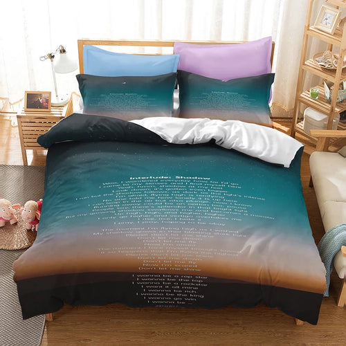 BTS MAP OF THE SOUL 7 #18 Duvet Cover Quilt Cover Pillowcase Bedding Set Bed Linen Home Bedroom Decor