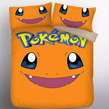 Load image into Gallery viewer, Pokemon Charmander #9 Duvet Cover Quilt Cover Pillowcase Bedding Set