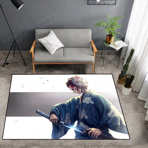 Demon Slayer Kimetsu no Yaiba #25 Graphic Carpet Living Room Bedroom Sofa Mat Door Mat Kitchen Bathroom Mat for Home Decoration